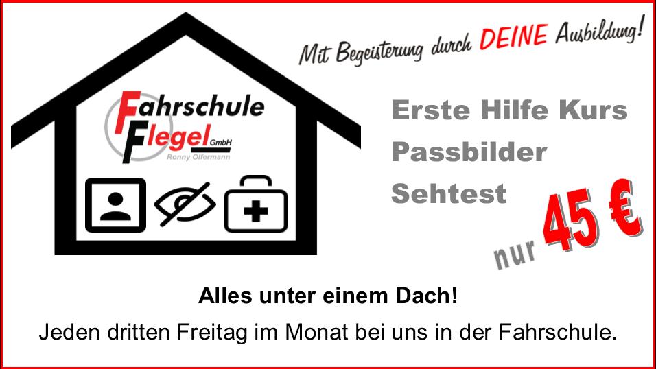 Unterrichtstermine / Erste Hilfe – Fahrschule Flegel
